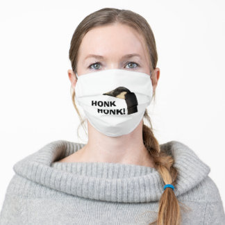 (1 MONTH TO ARRIVE) Goose Head Honk Honk 3 Adult Cloth Face Mask