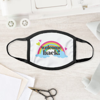 1st Day Of School Teacher Welcome Back Face Mask