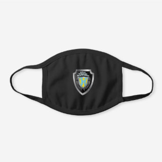 21st Theater Sustainment Command Black Cotton Face Mask