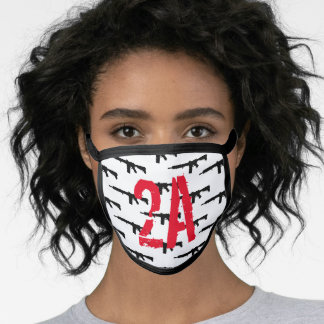 2nd Amendment and AR-15 Face Mask