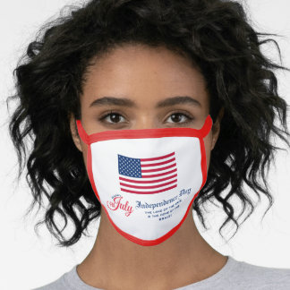 4th of July Independence Day Flag Face Mask