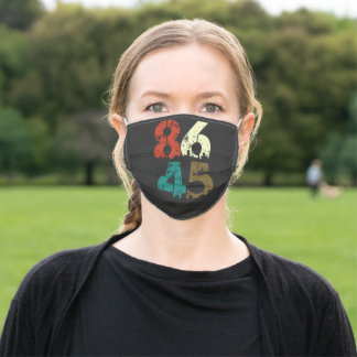 8645 Political Anti Trump Adult Cloth Face Mask