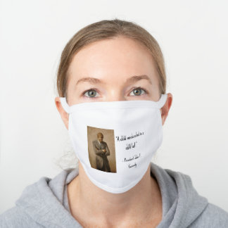 A Child Miseducated... White Cotton Face Mask