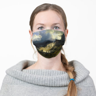 A Storm in the Rocky Mountains, Bierstadt Adult Cloth Face Mask