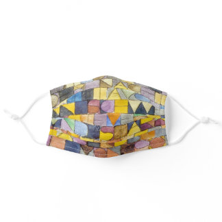 ABC (Alphabet), Paul Klee Adult Cloth Face Mask