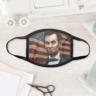 Abraham Lincoln President of the United States Face Mask