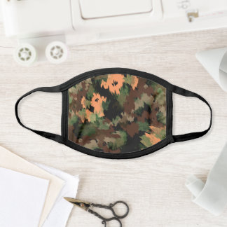 Abstract Army Camo Pattern Face Mask