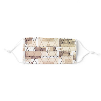 Abstract Lines and Shapes Cloth Face Mask