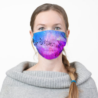 abstract Music Adult Cloth Face Mask