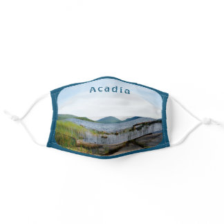 Acadia Eagle Lake National Park Maine Adult Cloth Face Mask
