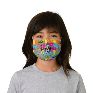 Action Handshake Pattern Kids' Cloth Face Mask