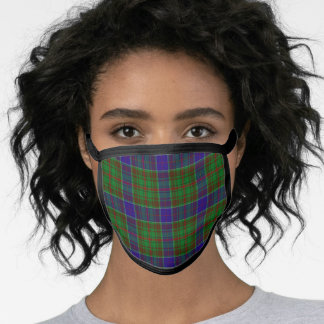 Adam Hunting Tartan Plaid Face Mask
