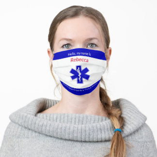 Add Name to County Fire and Rescue Cloth Face Mask