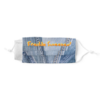 AEW Orange Cassidy- Freshly Squeezed Adult Cloth Face Mask
