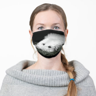 Afghan Hound Puppy Face Mask