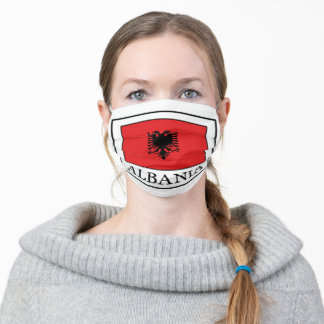 Albania Adult Cloth Face Mask