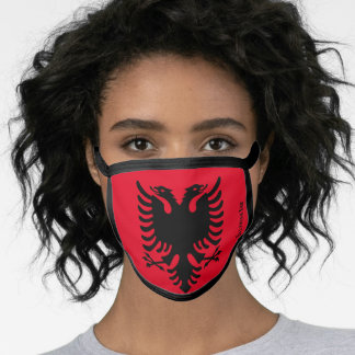 Albanian Eagle Face Mask from Illyrian Ink