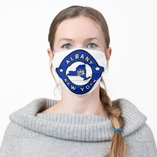 Albany New York Adult Cloth Face Mask