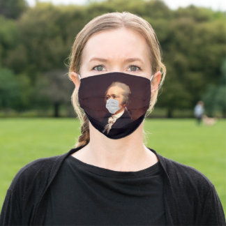 Alexander Hamilton Masked Cloth Face Mask