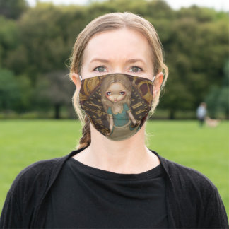 Alice in Clockwork Steampunk Face Mask by Jasmine