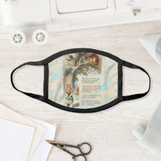 Alice in Wonderland Cheshire Cat Mad Face Mask