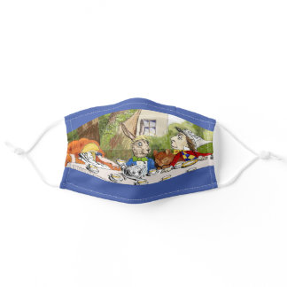 Alice's Adventures in Wonderland Adult Cloth Face Mask