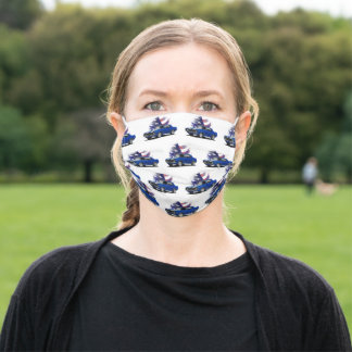 All American Muscle Car Adult Cloth Face Mask