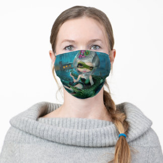 Alligator Girl Jasmine Becket-Griffith Face Mask