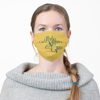 Alpha Sigma Tau Vertical Mark Adult Cloth Face Mask