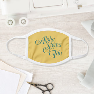 Alpha Sigma Tau Vertical Mark Face Mask