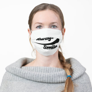 Always Smile Adult Cloth Face Mask