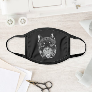 American Bully Dog face mask