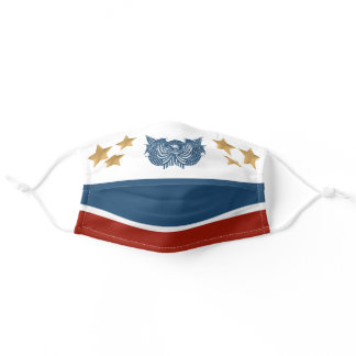 American Eagle Red White Blue 4th of July Adult Cloth Face Mask