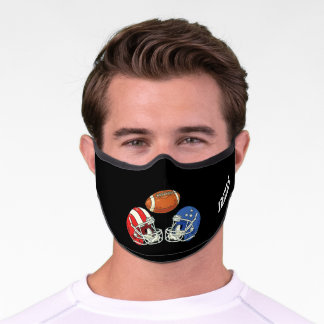 American Football Personalized Premium Face Mask