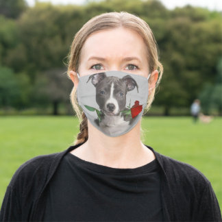 American Staffordshire Terrier Rose Face Mask