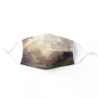 Among the Sierra Nevada Bierstadt Painting Adult Cloth Face Mask