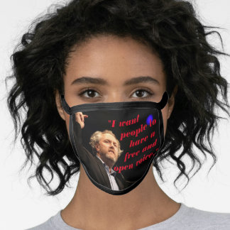 Andrew Breitbart Quote Patriotic Face Mask