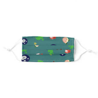 Animal Crossing Pattern Adult Cloth Face Mask