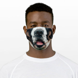 Animal Nose Mask Saint Bernard Dog