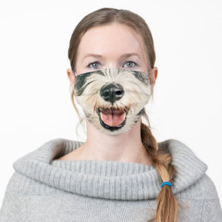 Animal Nose Mask Schnauzer Dog