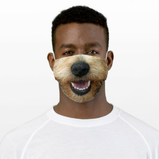 Animal Nose Mask Terrier Dog