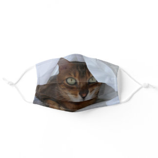 Ansel the Bengal Cat Mask