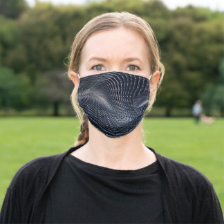 Anti-Surveillance Camouflage #1 Adult Cloth Face Mask