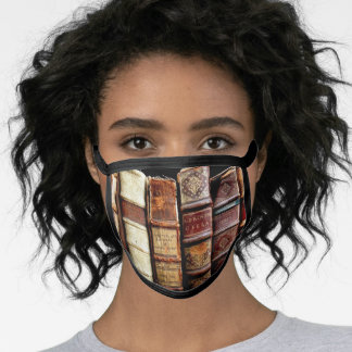 Antique Books All-Over Print Face Mask