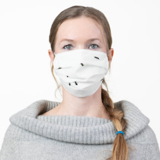 Ants And Flies Adult Cloth Face Mask