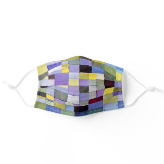 Architecture, Paul Klee Adult Cloth Face Mask