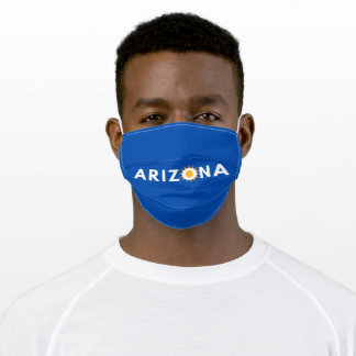 Arizona Blue Adult Cloth Face Mask