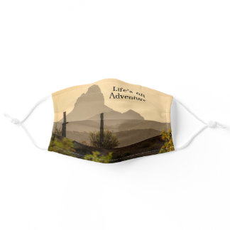Arizona Scenic View Mountains Weaver's Needle Adult Cloth Face Mask