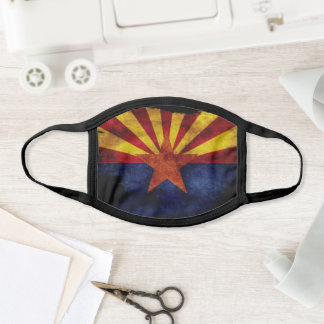 Arizona State Flag Face Mask