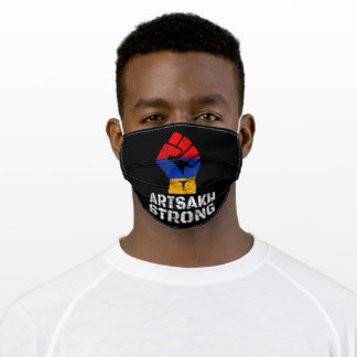 Artsakh Strong Artsakh is Armenia Adult Cloth Face Mask
